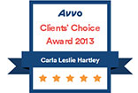 Avvo Client Choice Adoption Award 2013